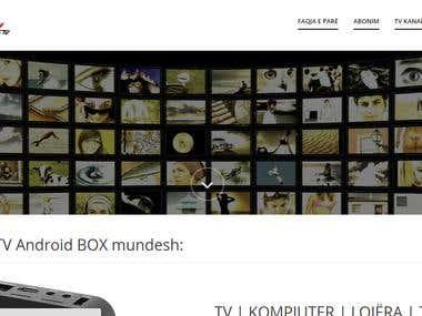 Live Stream webiste