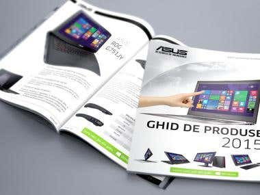 Asus Cover for Romanian catalog Summer  2015