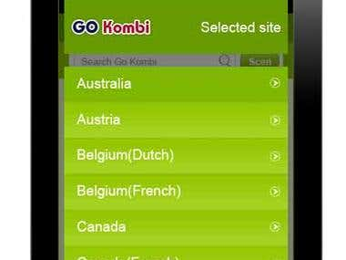 iPhone - Android app