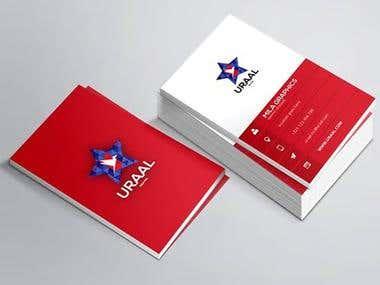 Uraal Business Card