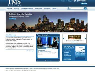 Website Design and Project Management