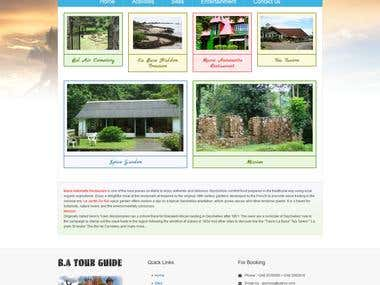 Tour and Travel Site