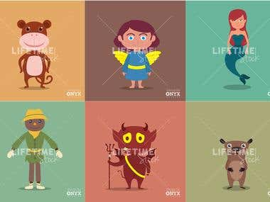 Cartoon Design Vector art