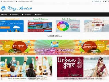 City Jhalak Website