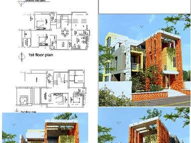 DESIGN OF A TRIPLEX RESIDENCE.....