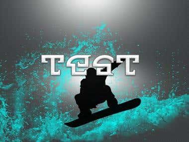 TAST Surfing Store Advertisement Design