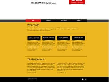 Website for Small Business Template