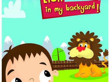 Peekaboo Animals! There's a Lion in my Backyard!