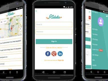 Ridele | Share your ride