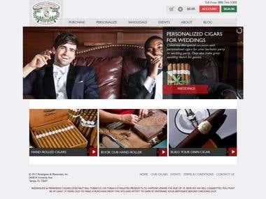 cigar store Magento