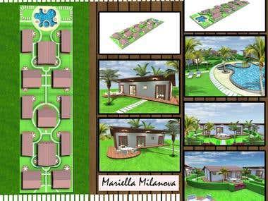 villas resort project