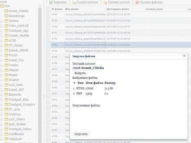 Files Management system