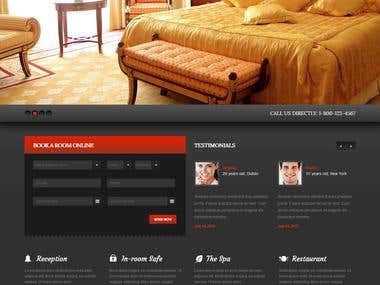 Design and developed for hotel
