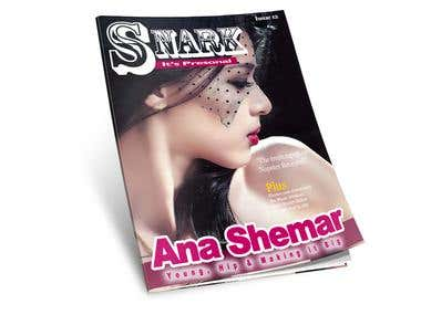 Magazine Cover Design  - Non-Fiction by MBS-E.W.D Design