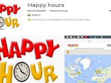 Android App Happy Hour