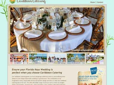 WP Catering/Restaurant Web Site