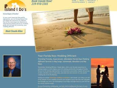 Wedding Site by Wordpress