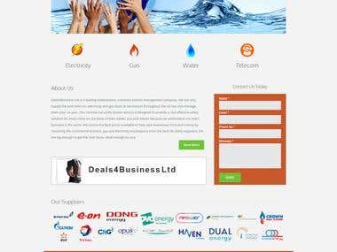 D 4 Business energy supplying chain.