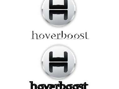 Logo hoverboost