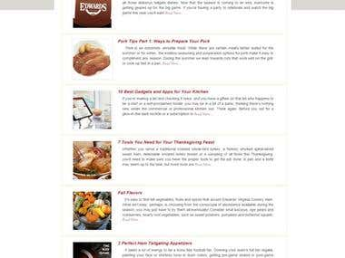 Authentic Southern Smoked Meats and Specialty Foods