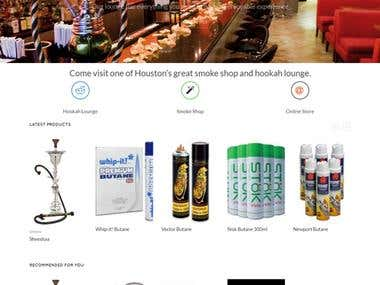 An eCommerce Site