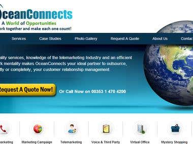 WordPress Corporate Website - Telemarketing Industry