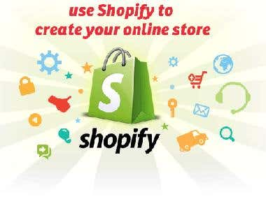 Shopify Store Development & administration