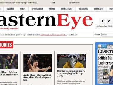 Multi side news portal