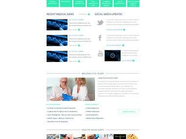 Medical Service web site ...