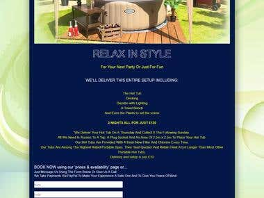 HOT TUB HIRE NORTH-WEST