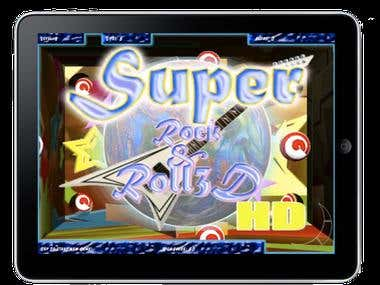 Super Rock and Roll 3D (iPhone and iPad game)