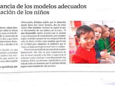 La importancia de los modelos adecuados en la educación de l
