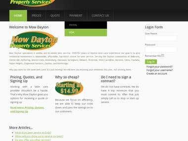Lawn Service Site