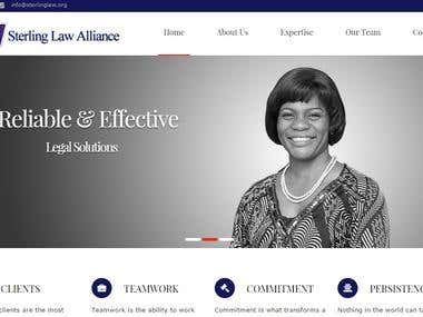 Coporate Website for a Law Firm