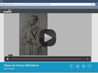 Clase grabada sobre el pintor Arturo Michelena