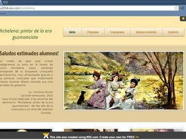 Redacción creativa sobre pintor Arturo Michelena
