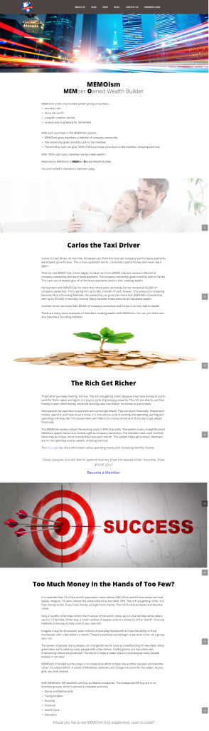 Website on Wealth Building