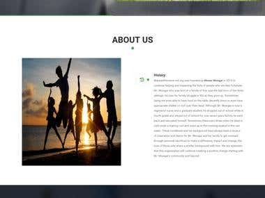 NGO Website (HTML + CSS)