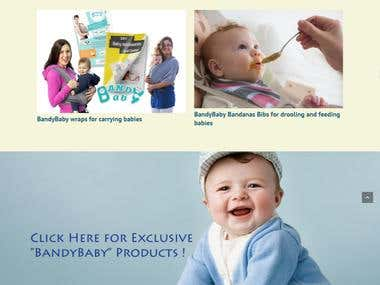 Website on Baby Products