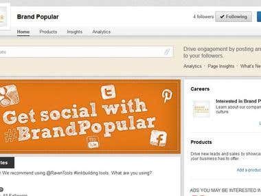 Brand Popular LinkedIn