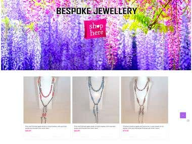 Louise Muir Jewellery ecommerce site