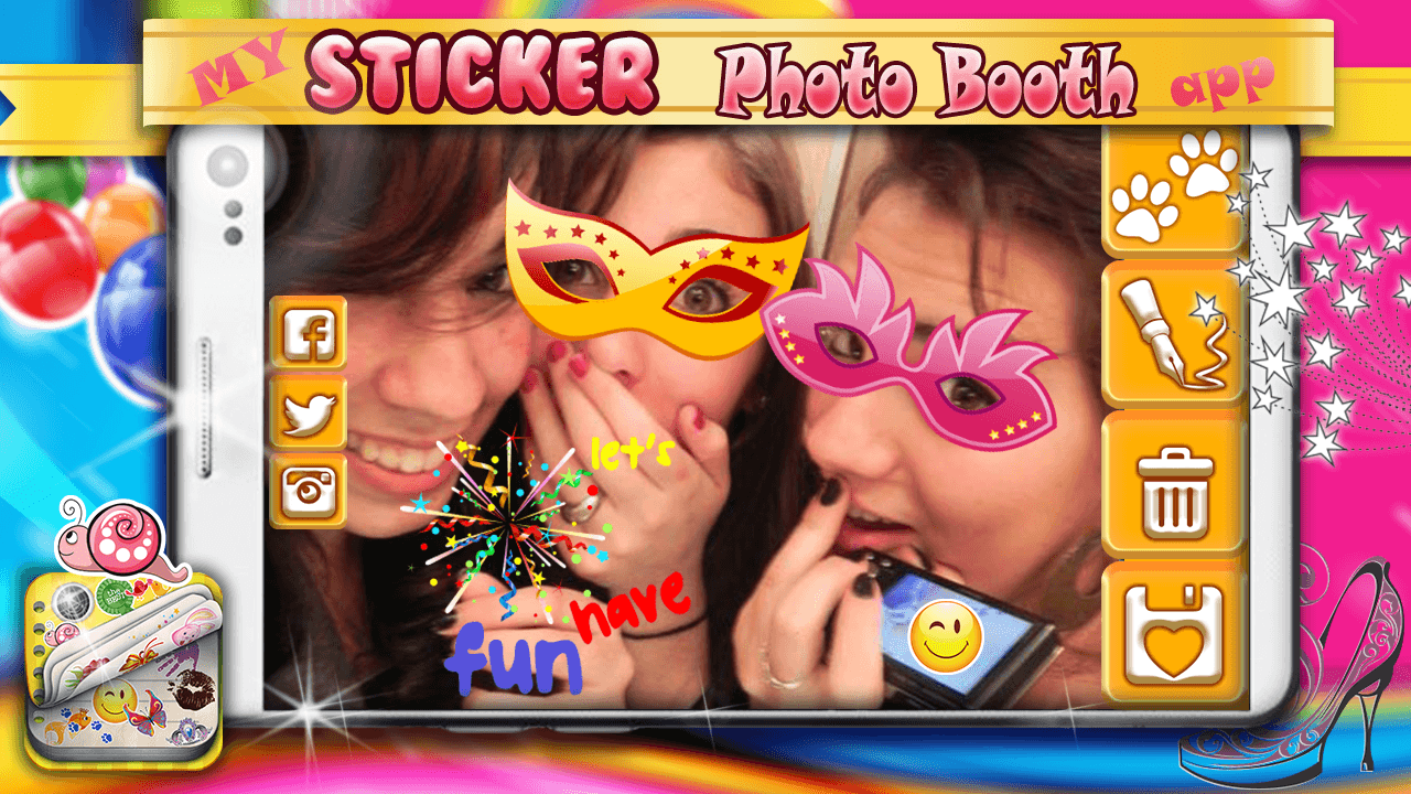 My Sticker Photo Booth App