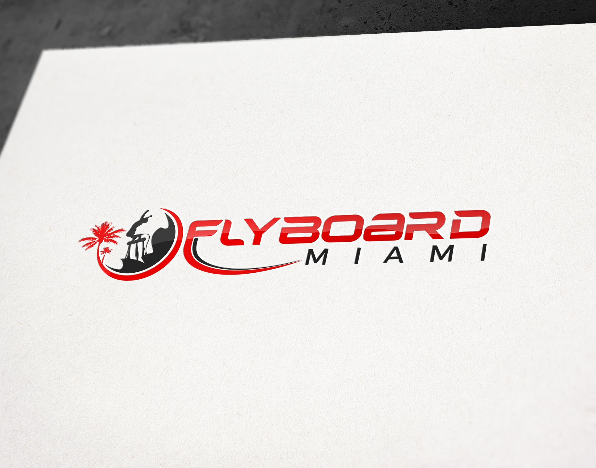 Flyboard Logo Design