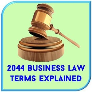 Business Law Terms Directory App