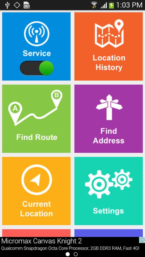 GPS Route Finder App