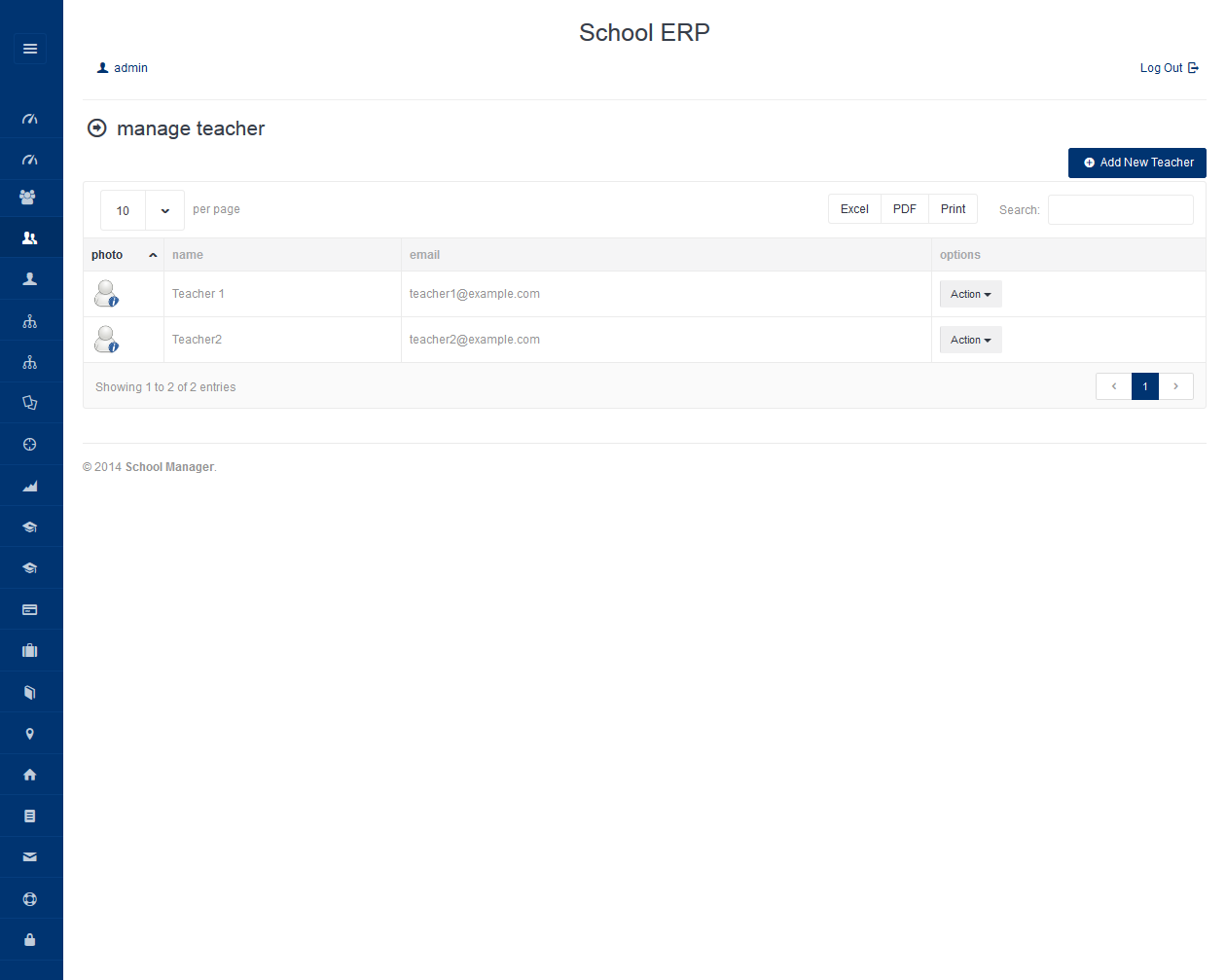 School ERP | Freelancer