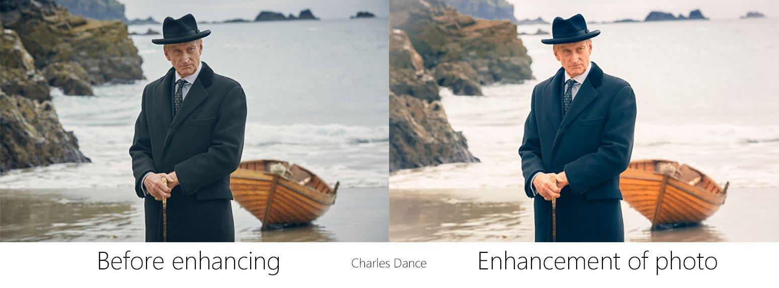 Enhancement of Charles Dance