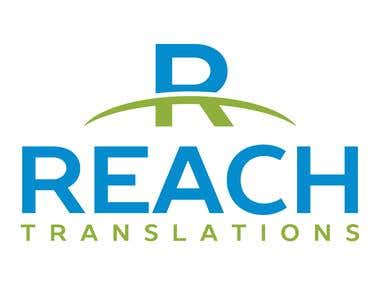 Logo for a translation company