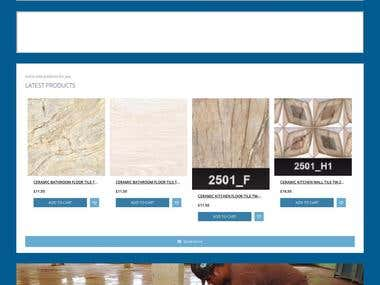 Tiles World Ltd eCommerce website