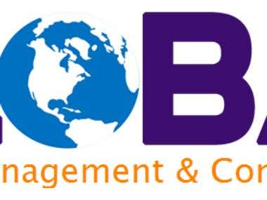 Global Business Consultancy logo design